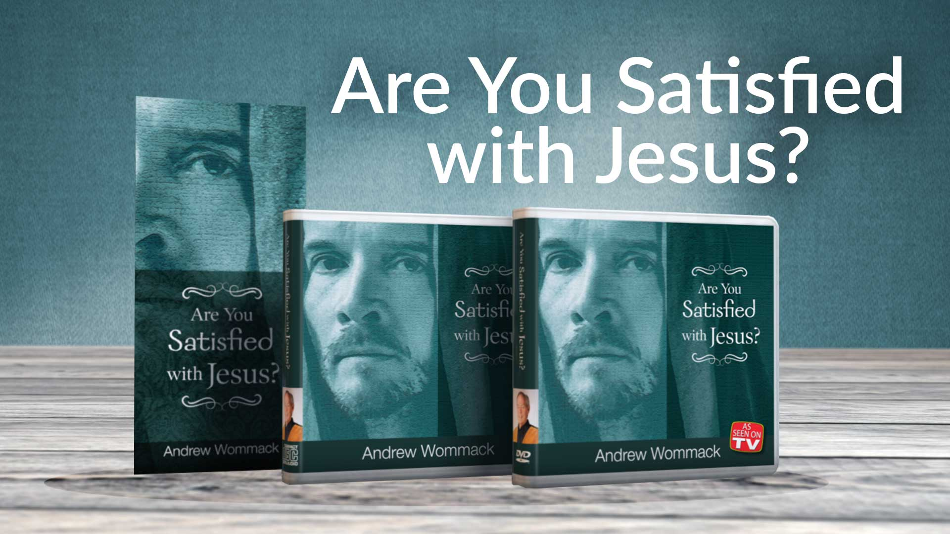 Are You Satisfied with Jesus Banner