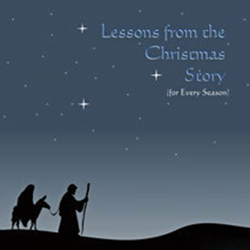 Lessons from the Christmas Story CD