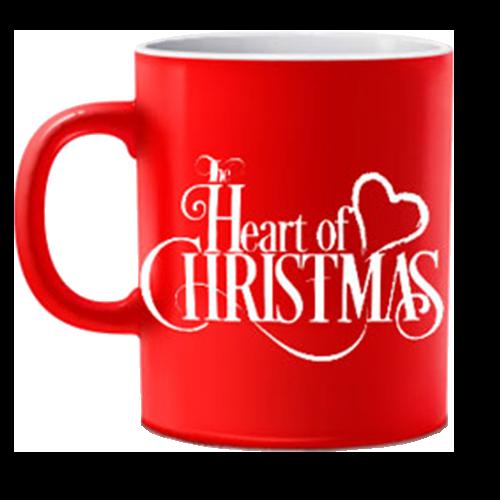Heart of Christmas Red Mug