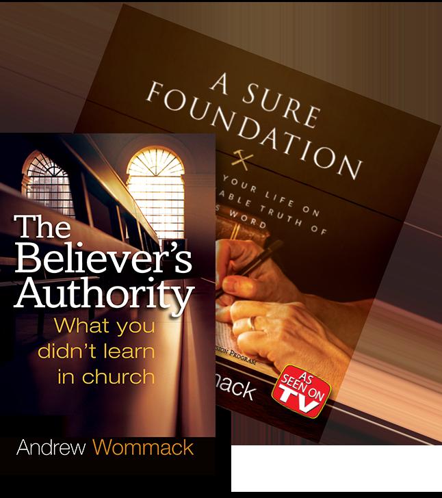 Believer's Authority Book and Bonus DVD