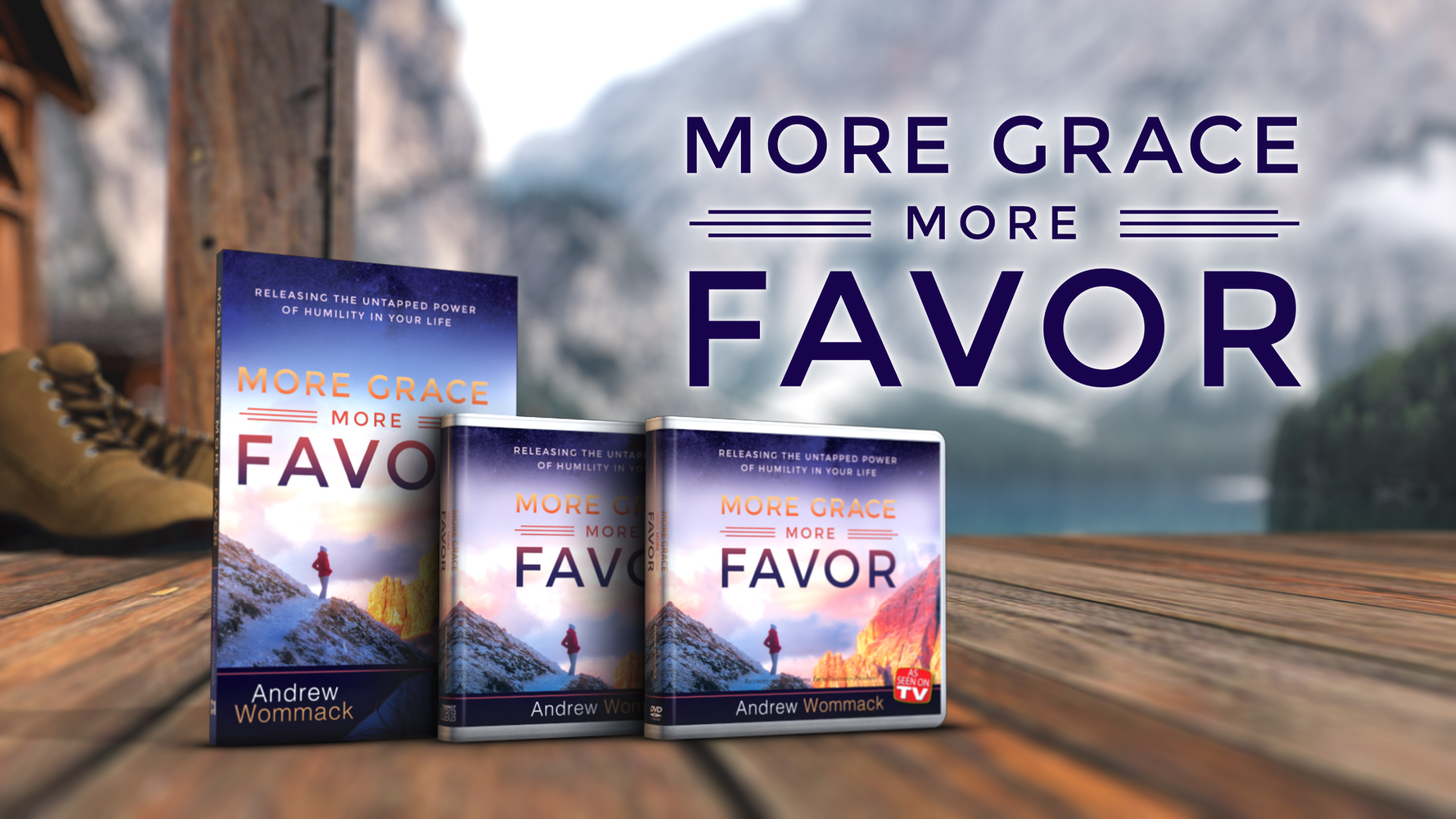 More Grace More Favor Banner