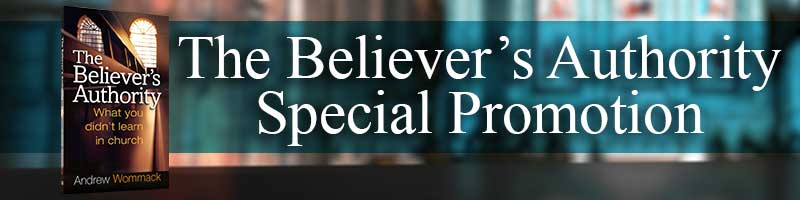 The Believer's Authority Special Promotion